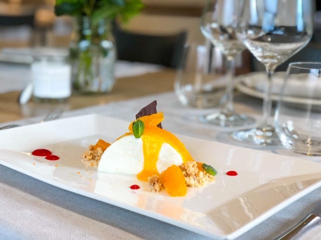 Ristorante Monteriggioni Cheesecake al mandarino