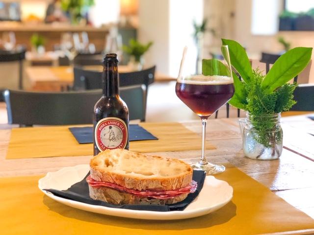 Cantinale Ristorante Monteriggioni Panino Salumi e Birra