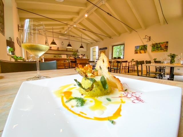 Cantinale Monteriggioni - Sformatino di zucchine e salsa di pecorino