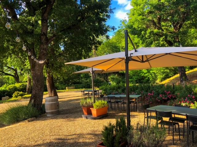 Cantinale - Ristorante Monteriggioni - Giardino